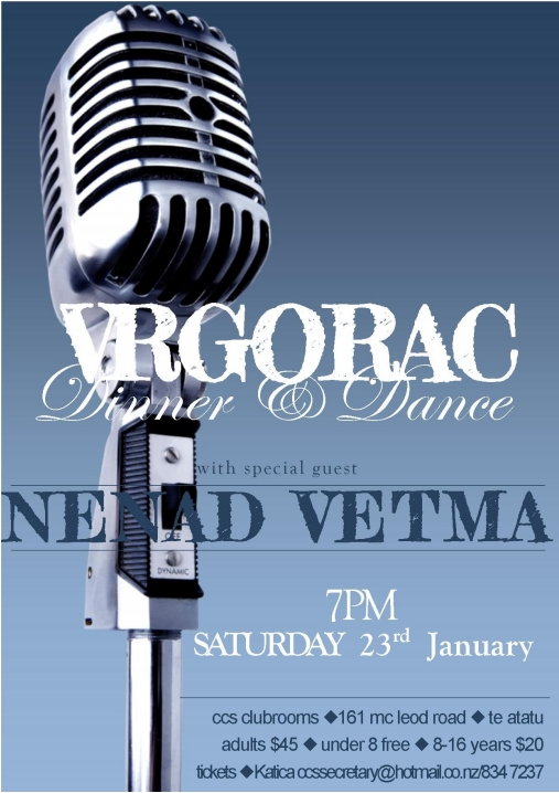 Vrgorac Dinner and Dance - January 2016