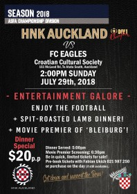 HNK Auckland vs FC EAGLES